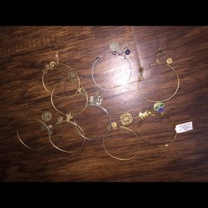 9 Pack of Alex and Ani bracelets!!!